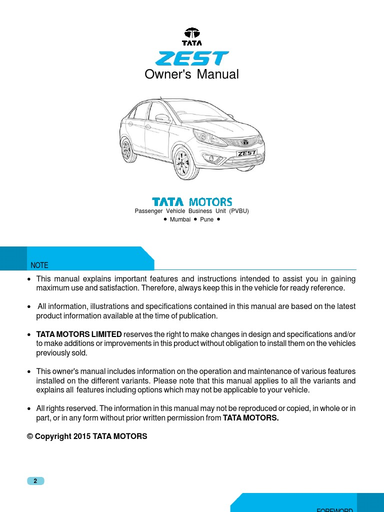 Tata zest osb final1 airbag seat belt fandeluxe Image collections