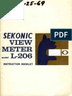 Sekonic l 206