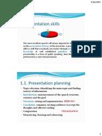 Presentation Skills Mindmapping