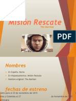 Mision Rescate Final