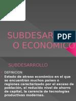 SUBDESARROLLO-ECONOMICO