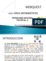 Webquest Sobre Virus Informaticos Taller 5