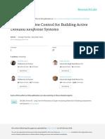 Model Predictive Control for Building Active Deman