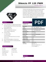 Silencio FP 120 PWM - ProductSheet