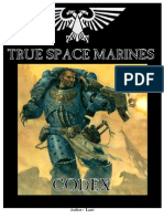 True Space Marines Codex