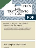 La Vida Después Del Tratamiento Del Cancer
