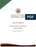 Coaching Primordial y Danza Primal, Daniel Taroppio