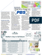 Pharmacy Daily for Fri 05 May 2017 - New drug name change tool, Black Gorilla Tablets, Pharmacy workforce program review, Free supermarket flu vaccinations, Events Calender and much more
