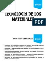 (Sesión 1) - Clasificación y Propiedades de Los Materiales