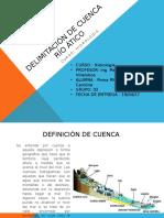 Ppt - Delimitación de Cuenca
