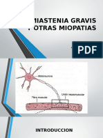Medicina III - Miastenia Gravis y Otros