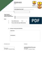 Format Laporan Program