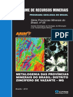 IRM Metalogenia .. Distrito Zincífero de Vazante