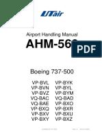 AHM560 737-500 Rev9 Trim UTair