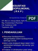 ResusitasiKardiopulmonal DR.med.Dr.untungWidodoSpAn.kic.