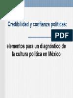 Credibilidad y Confianza Políticas