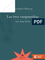Las Tres Vanguardias - Ricardo Piglia
