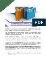Auditor Training ISO 17025 | Training ISO 17025 | WA +62 857 1027 2813