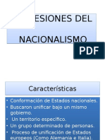 Expresiones Del Nacionalismo