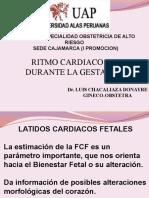 Ritmo Cardiaco Fetal Durante La Gestacion