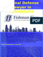 Criminal Defense Lawyer in Philadelphia