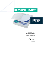 ECG Cardioline AR2100ADV - User Manual