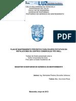 10072015 Plan Mantenimiento Preventivo Equipos Rotativos