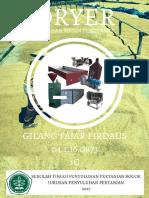 Gilang Fajar Firdaus, 1C, No Abs 16, Dryer
