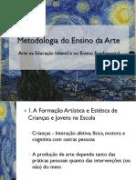 Metodologia Do Ensino Da Arte