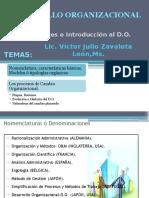 Desarrollo Organizacional Introduccion