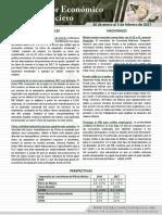 Monitor Económico y Financiero Del 30 Ene - 3 Feb 2017