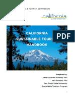 CALIFORNIA SUSTAINABLE TOURISM HANDBOOK
