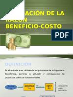 Evaluación  Beneficio-costo - Administración de Proyectos