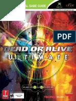 Dead or Alive Ultimate - Prima Official Guide