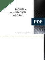Inducción Al Mercado Laboral