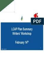 lcap plan summary