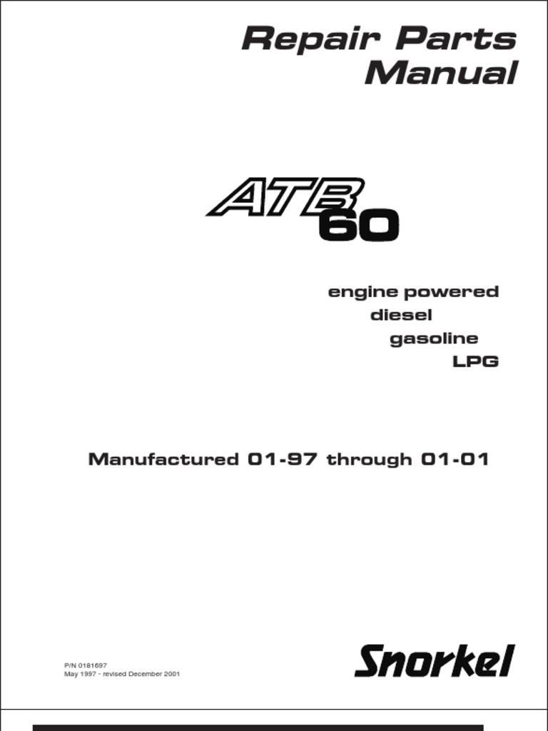 Atb 60 Manual | Screw | Mechanical Engineering