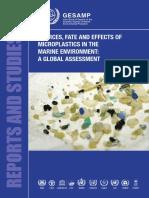 Microplastics in the Ocean