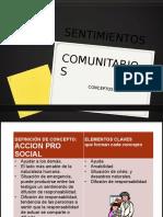 Sentimientos Comunitarios y Conceptos (1)