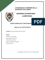 Manual Del Paricipante (curso BPMS),