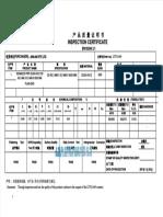 Mill Certificate Shanghai Liangte Valve