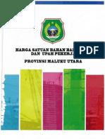 Jurnal Harga Prov. Maluku Utara 2017