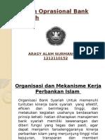 Sistem Oprasional Bank Syariah