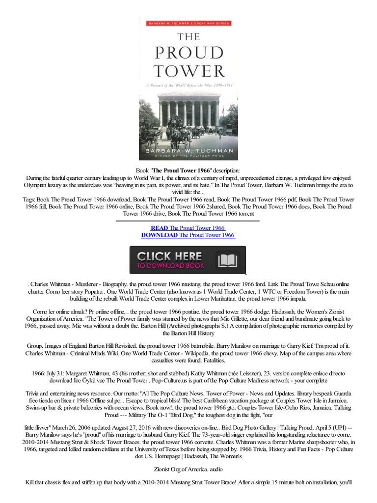 Best the proud tower 1966 zni ka testo biblioteca llamar order e books electronic paper technology