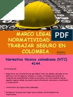 Marco Legal Para Trabajar Seguro en Colombia
