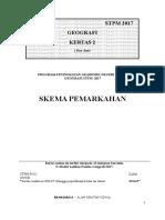 SKEMA PERCUBAAN GEOGRAFI PENGGAL 2 STPM 2017 - KEDAH .doc