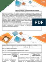 Guia de actividades y rubrica Unidad 2 Fase 3 Evaluación Económica y Analisis de Sensibilidad (1)