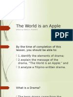 The World is an Apple