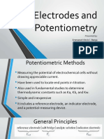 Potentiometry and Amperometry (1)