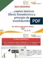 Efecto Fotoeléctrico y Principio de Incertidumbre